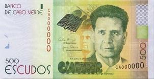 Nuevos billetes de 500 y 5.000 escudos en Cabo verde