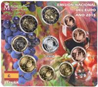Los euroset de 2015 dedicados a Baleares y La Rioja