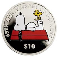"""Las Islas Vírgenes Británicas celebran los 65 años de """"Snoopy"""""""
