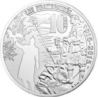 """""""Tregua de Navidad"""" durante la Primera Guerra Mundial recordada en 10 euros plata"""