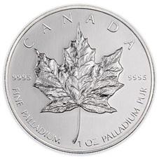"""Maple Leaf"", paladio canadiense"