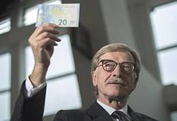 En circulación el nuevo billete de 20 euros