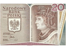 Polonia rinde homenaje a Jan Długosz con un billete conmemorativo de 20 zlotis