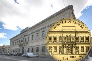 Malta y el Albergue de Bavière en 10 euros plata y 15 euros oro