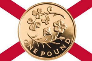 Imagen floral de Irlanda del Norte