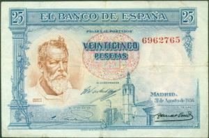 Series Raras en los Billetes Españoles I: Monarquía y República