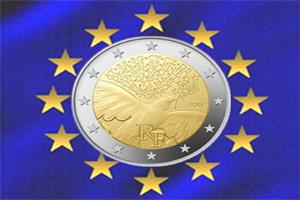 Francia y sus 2 Euros de la Paz