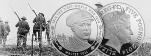 Walter Tull, el primer oficial negro de Inglaterra