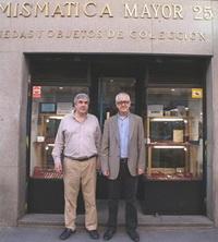"""""""La tienda permite moverte en el negocio numismático de una forma que podemos definir como óptima"""""""