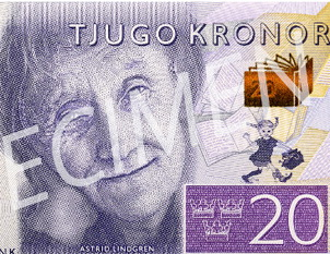 Suecia emitirá en octubre billetes de 20, 50, 200 y 1.000 coronas