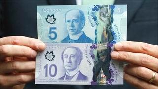 Nuevos Billetes Polímeros De 5 Y 10 Dólares Cananses