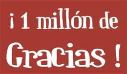 Más de 1 millón de visitas durante 2014