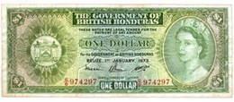 British Honduras 1 Dólar 1973 vs. Belice 1 Dólar 1976
