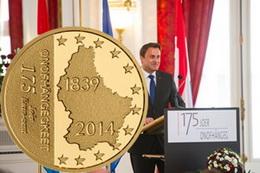 Luxemburgo celebra 175 años de Independencia
