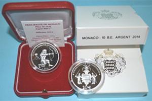 Mónaco y el Puerto de Hércules en 10 euros plata