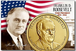 Dólar presidencial: Franklin Delano Roosevelt
