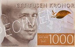 Circula en Suecia el nuevo billete de 1.000 coronas