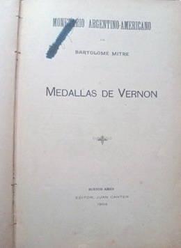 """""""Las Medallas de Vernon"""", de Bartolomé Mitre"""