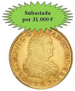 Excelentes pujas y remates en la Subasta Numismática de Hervera, Soler&Llach