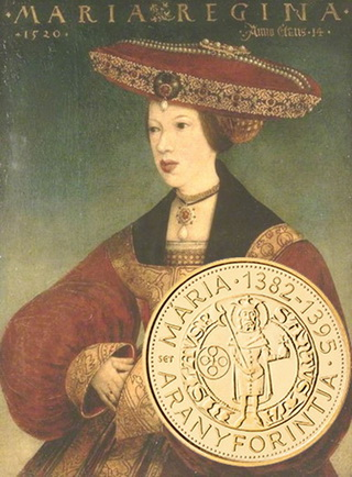 Florín de oro de la reina María de Hungría