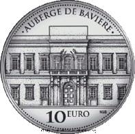 El Albergue de Baviera en 10 euros plata y 15 euros oro de Malta