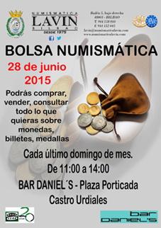 Bolsa Numismática en Castro Urdiales organizada por Numismática Lavín