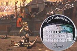 El Coliseo de Roma estrena holograma en 2 dólares de Niue