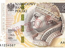 Nuevo billete polaco de 200 zlotys para 2016