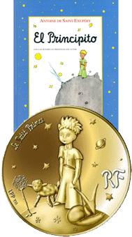 """""""El Principito"""", de Antoine de Saint-Exupéry, visto por la Monnaie de Paris"""