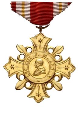 Órdenes y Condecoraciones Pontificias (y III)