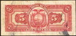 Ecuador 5 sucres 1949 vs. Rusia 100 rublos 1918