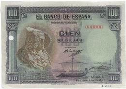 Billetes no Emitidos Siglo XX.
