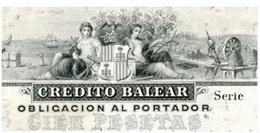 El Papel Moneda del Crédito Balear