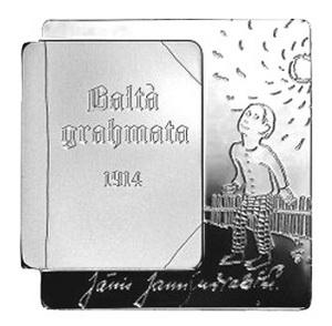 """Presentación innovadora de """"El libro blanco"""" de Letonia"""