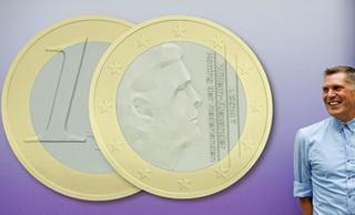 La innovadora imagen de los euros holandeses