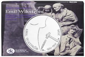 150 Aniversario del nacimiento del escultor finlandés Emil Wikström