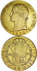 Los 320 Reales de José Napoleón, Madrid 1810, alcanzaron los 9.800 euros de remate