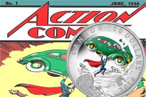 """Canadá rinde homenaje al """"Superman"""" número 1 de 1938"""