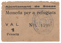 La peseta de Soses, Lleida