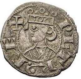 La moneda de PedroII de Aragón