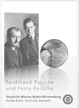 Medallas conmemorativas para Ferdinand y Ferry Porsche