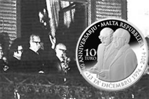 40 Aniversario de la República de Malta