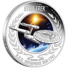 """""""Star Trek"""" llega a la galaxia monetaria de Tuvalu"""