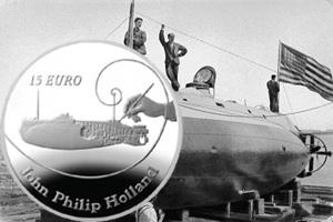 El ingeniero irlandés John Philip Holland y el submarino moderno