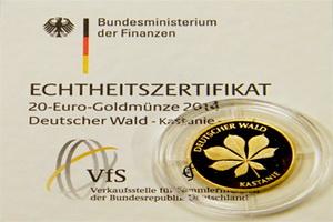 Árboles alemanes: el castaño en oro
