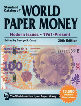 """Standard Catalog of World Paper Money Modern Issues"""
