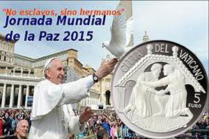 Vaticano celebra la 48 Jornada Mundial de la Paz con 5 euros en plata