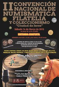 """Pulifil y su II Convención Nacional de Numismática, Filatelia y Coleccionismo """"Ciudad de Jerez"""""""