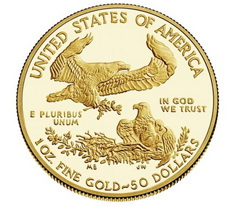 La US Mint, Ceca de West Point, ya dispone de los bullion American Eagle en oro 2015