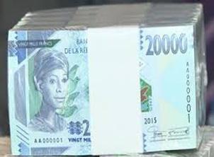 En circulación los nuevos billetes de 20.000 francos guineanos